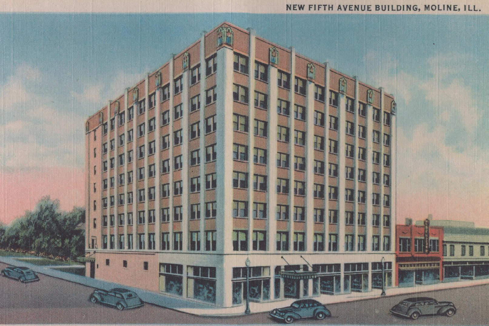 Fifth Avenue Building Historical rendering